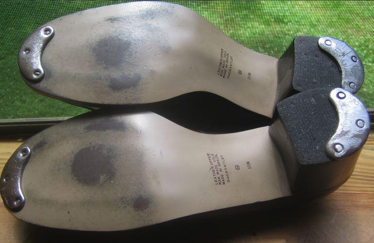 4 BLAKEYS METAL FOOTWEAR TOE HEEL SEGS SHOE BOOT SOLE SIZE 8 PROTECTOR HAMMER ON