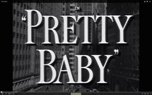 Pretty Baby title