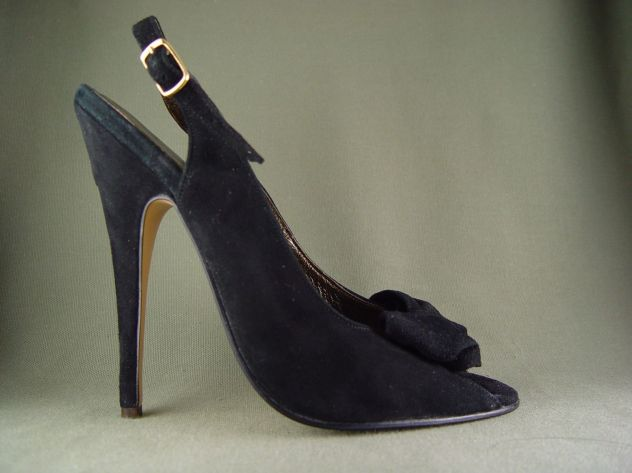 slingback pumps steel tipped heels 4