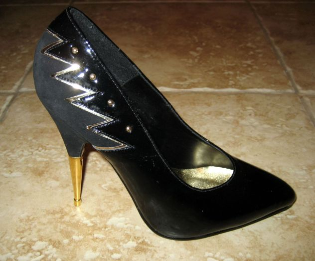 steel heeled pumps 1